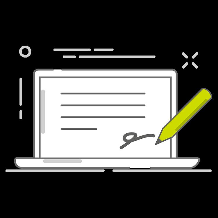 Signature électronique et registres